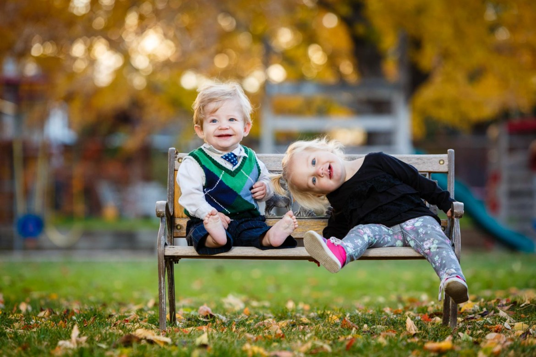 Molly & Levi in autumn