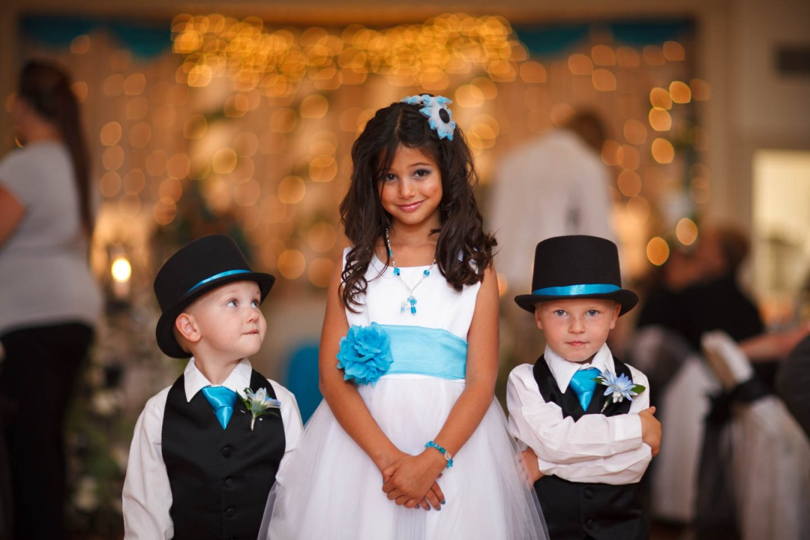 Flower girl and her security?