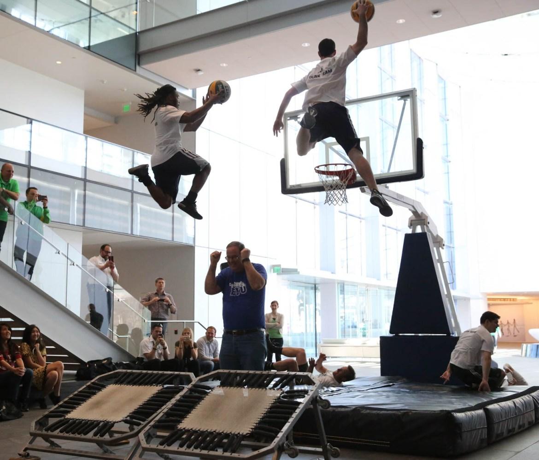 Utah Jazz Dunk Team