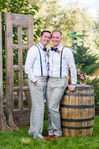 The formal wedding portraits