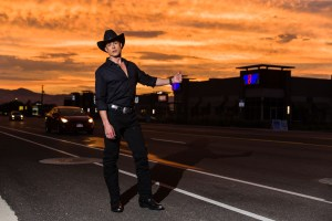 Steven Fales and the amazing sunset