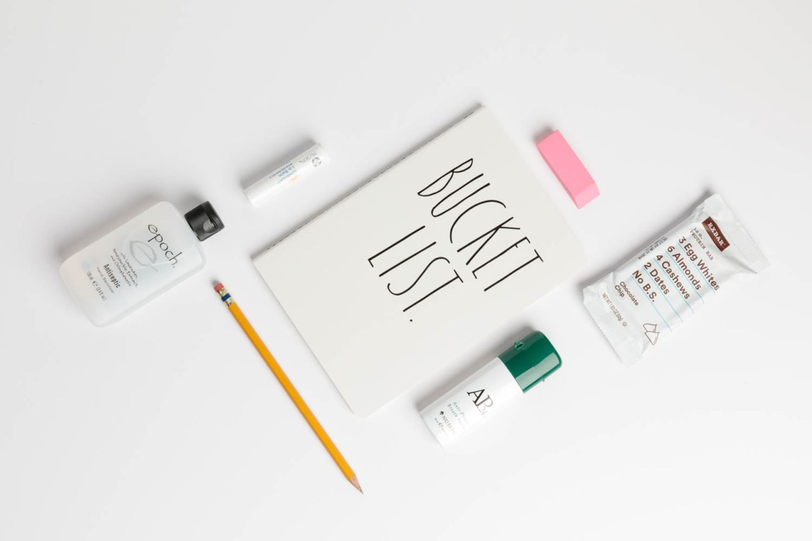 Social media with product and note taking materials