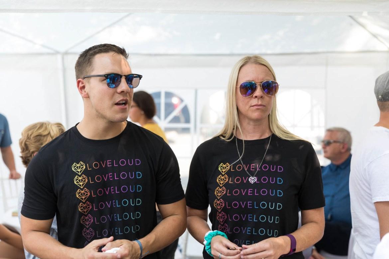 LoveLoud supporters