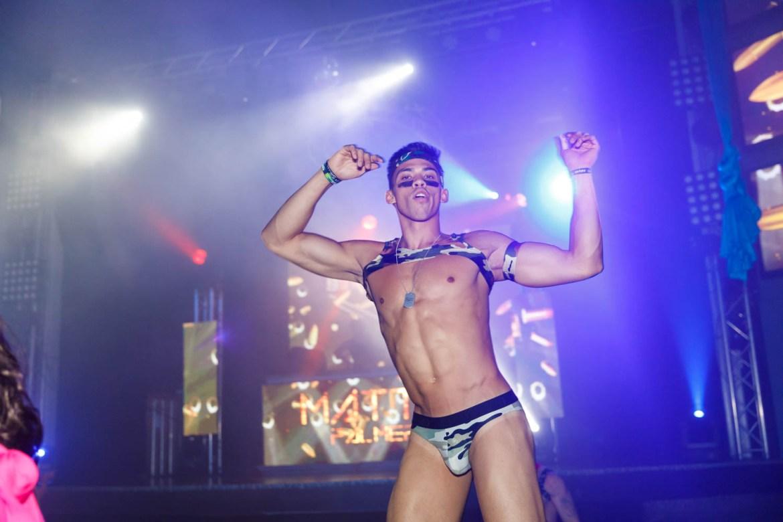 Dancer Matt Palmer