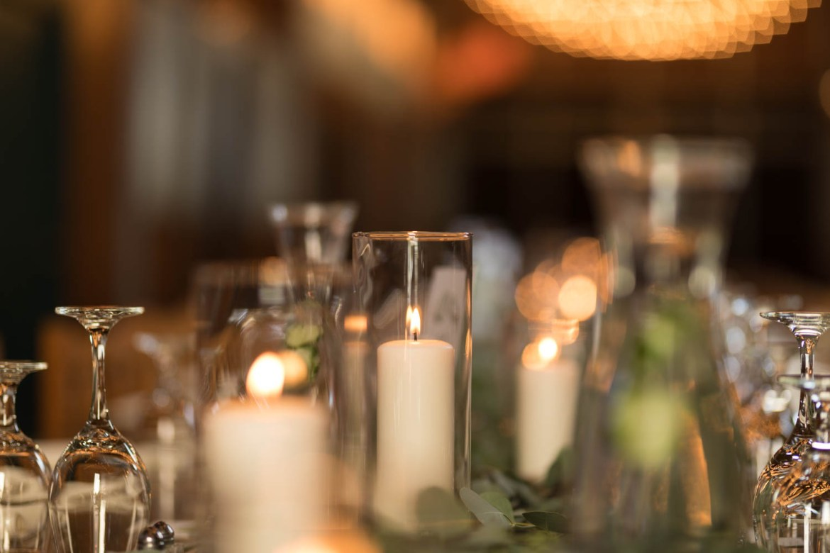 Candles and lights by LUX Catering & Events