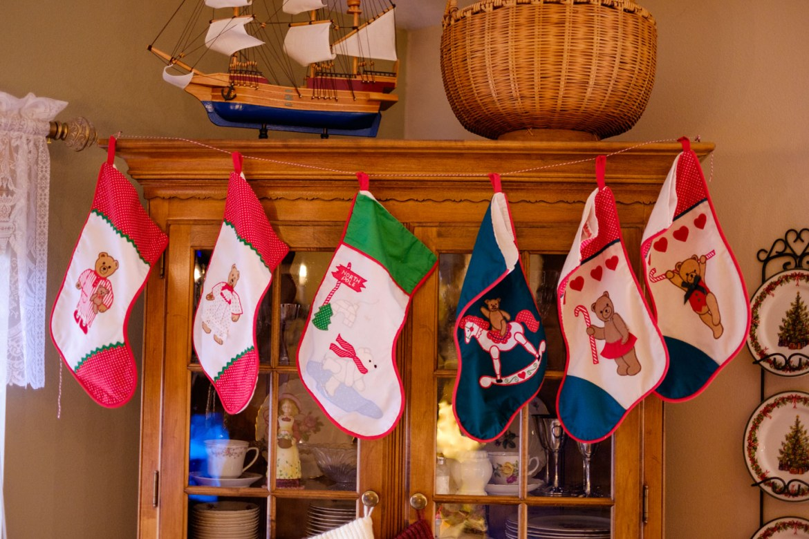 The Christmas stockings