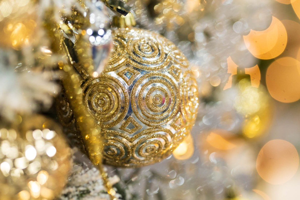 Silver and gold Christmas