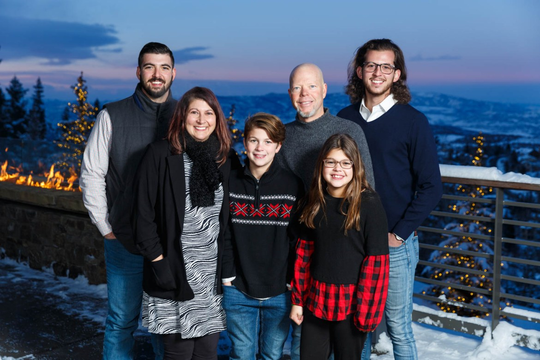 A family portrait in Park City