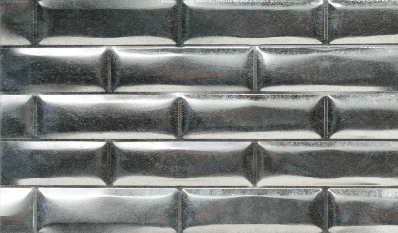 Aluminum subway tiles