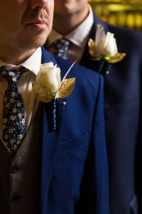Grooms' boutonnieres