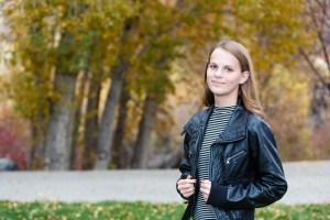 Female portrait in autumn