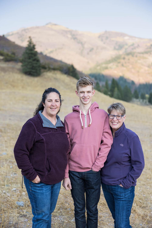 Utah mountains and portraits