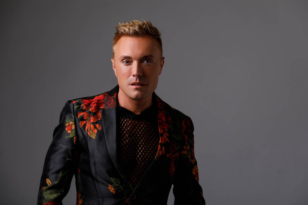 Male portrait with the fancy jacket