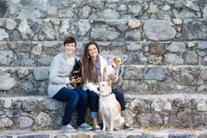Megan & Karen's portraits with dogs