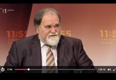 Miroslav Číž pripomenul v RTVS Hajkovi a Nicholsonovej: 45% ľudí chcelo v roku 1989 socializmus, 45% socializmus a komunizmus a 3% kapitalizmus