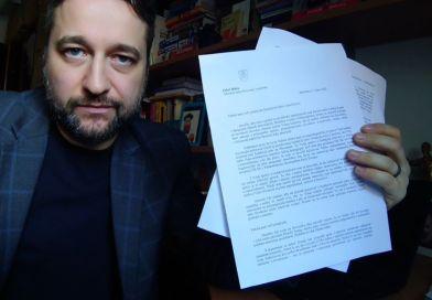 Ľuboš Blaha posiela list veľvyslankyni Spojených štátov amerických