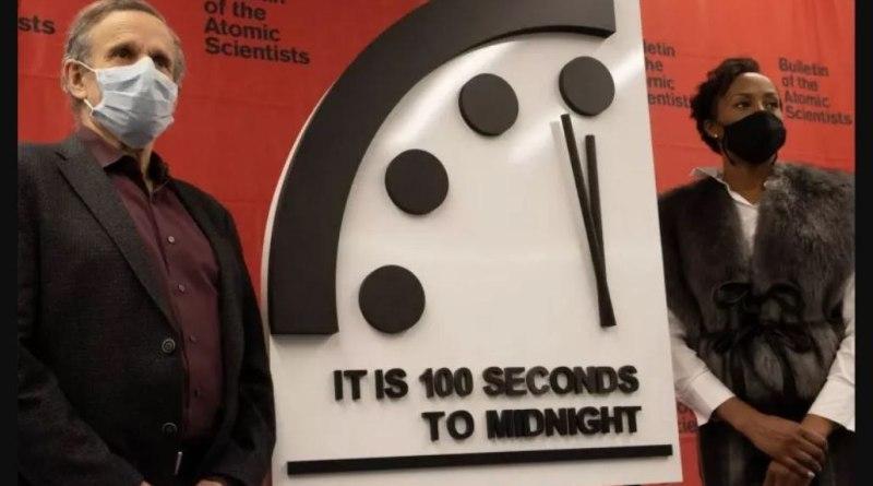 Hodiny súdneho dňa - 100 sekúnd do konca