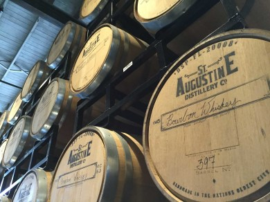 St Augustine Distillery are still ageing their first Florida bourbon