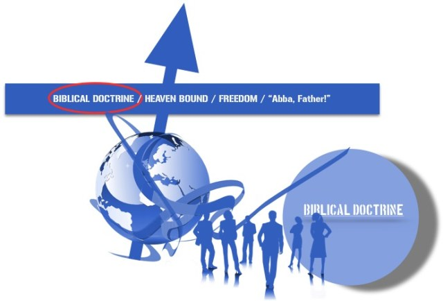 biblical doctrine blue globe people 113014