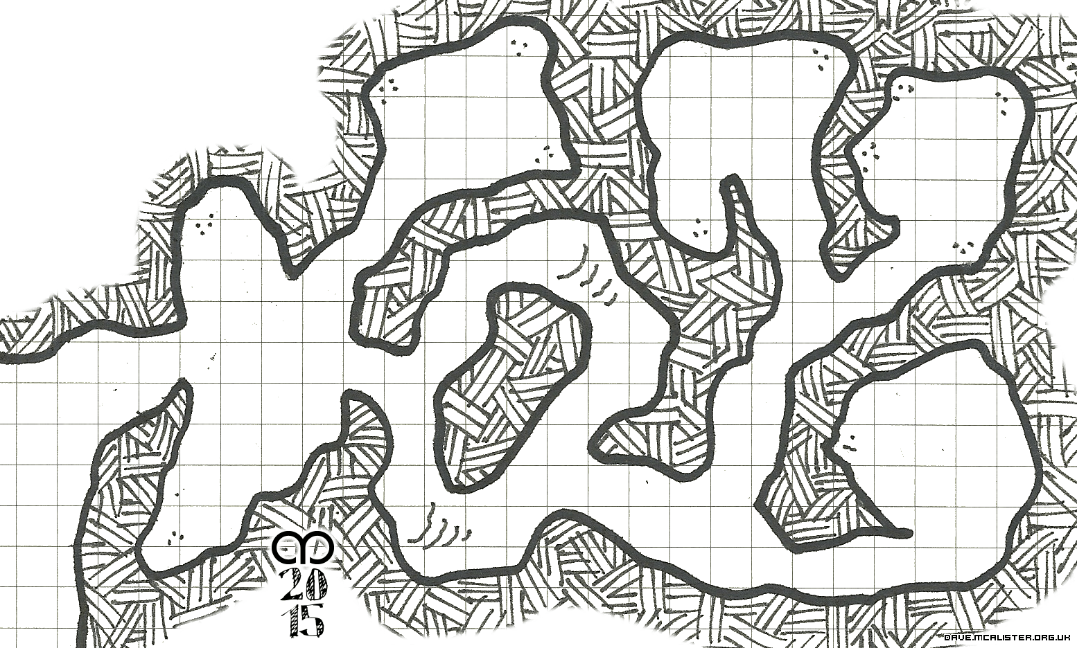 Another Cave Complex Map