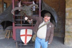 Eaten by a Dragon in Alnwick over Easter