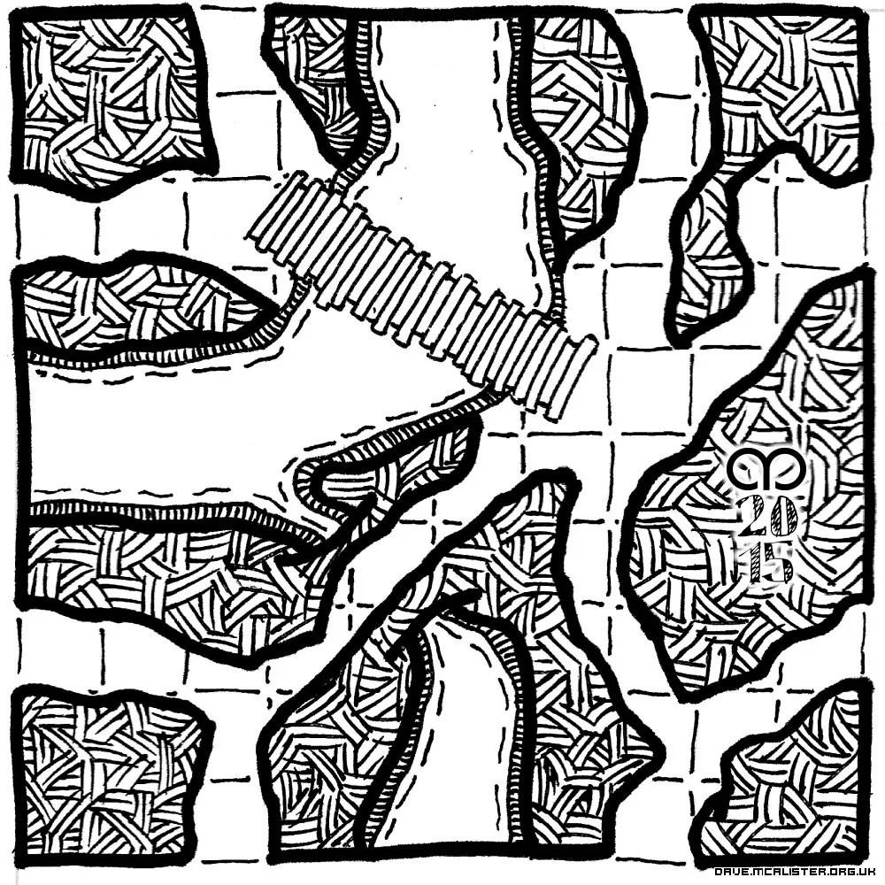 Bonus Water Geomorph