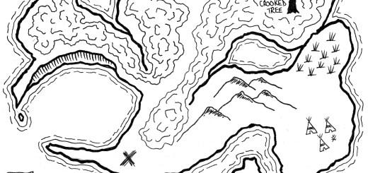 [Friday Map] Pirate Treasure Island