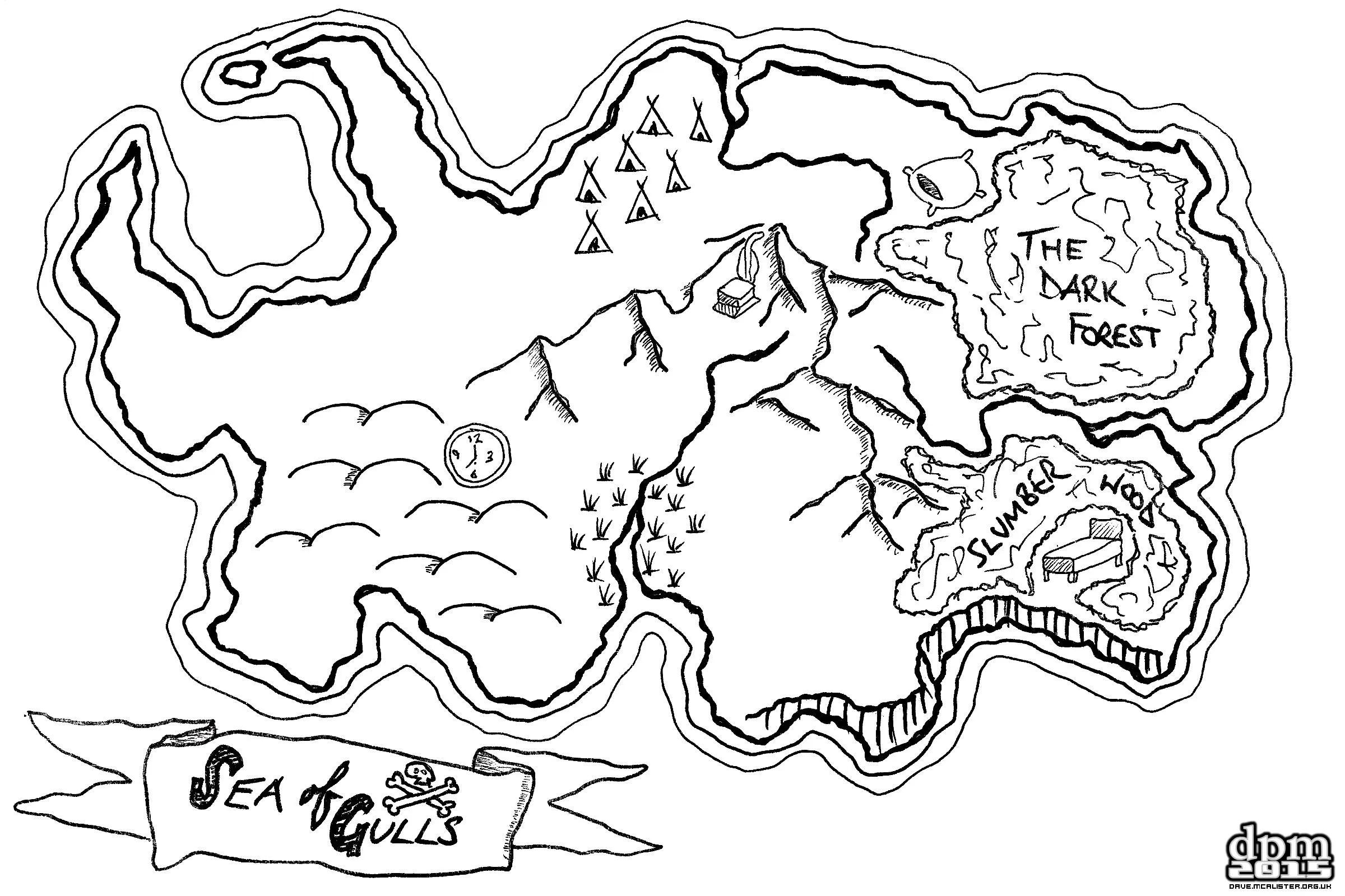 [Friday Map] Brownie Treasure Map