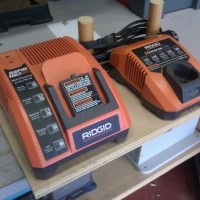 Cordless Drill Charger Rack