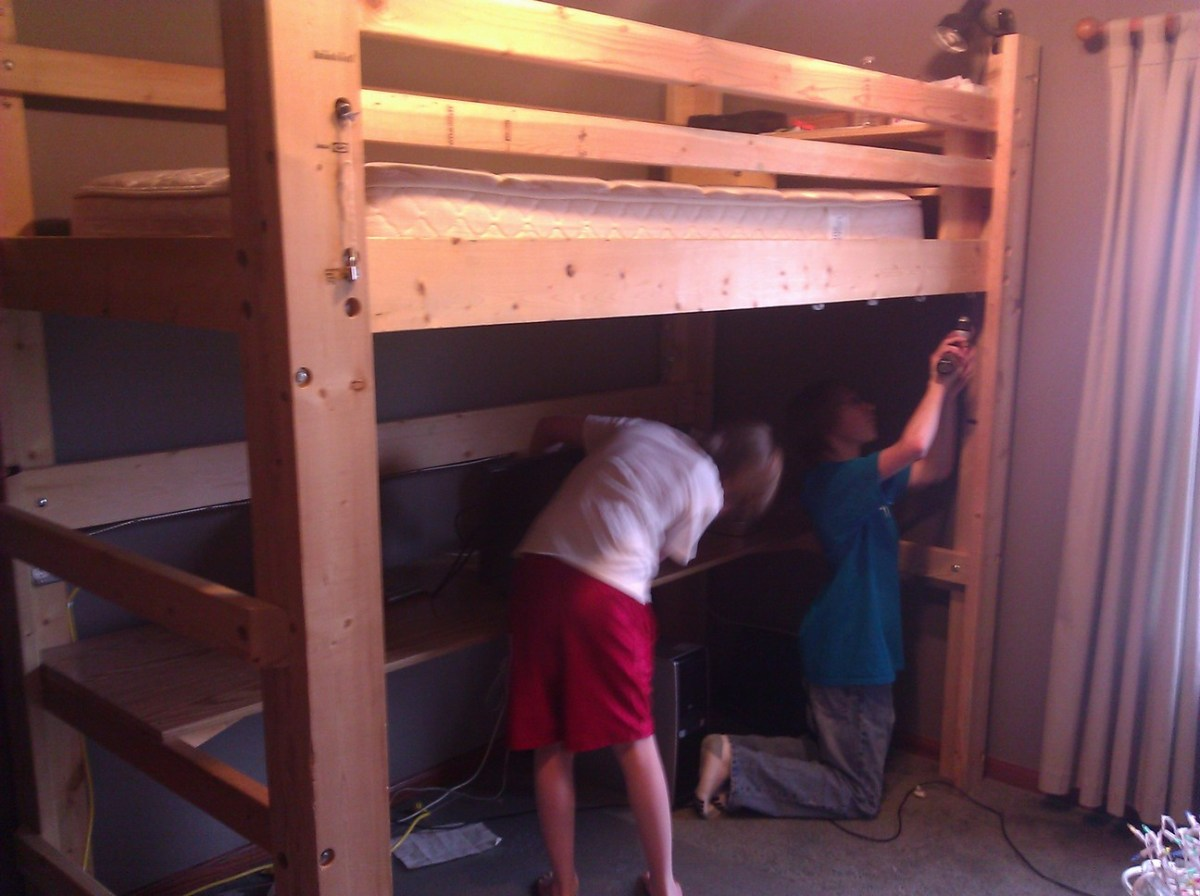 Loft Bed Deconstruction and Rebuild