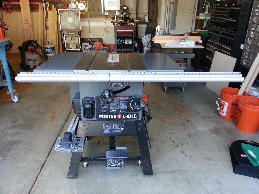Review - Porter Cable Table Saw Model PCB270TS