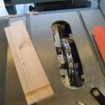 Miniature Dresser: Dado Setup