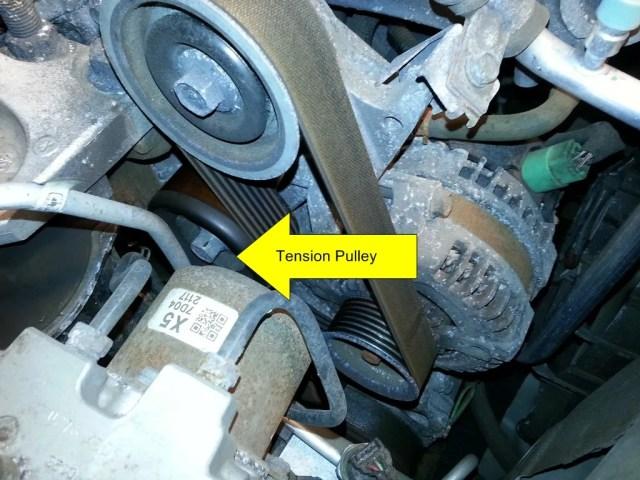 Serpentine Belt Replacement 2007 Honda Civic Si The Workbench
