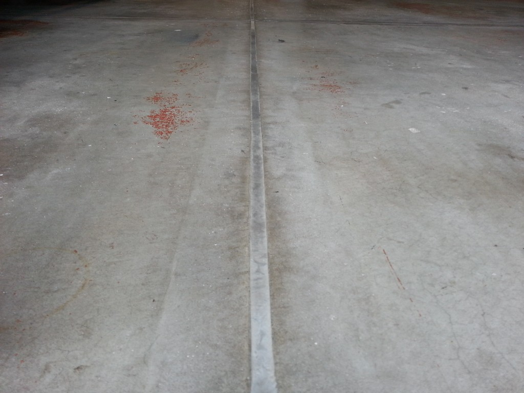 Filling Garage Floor Expansion Cracks The Workbench