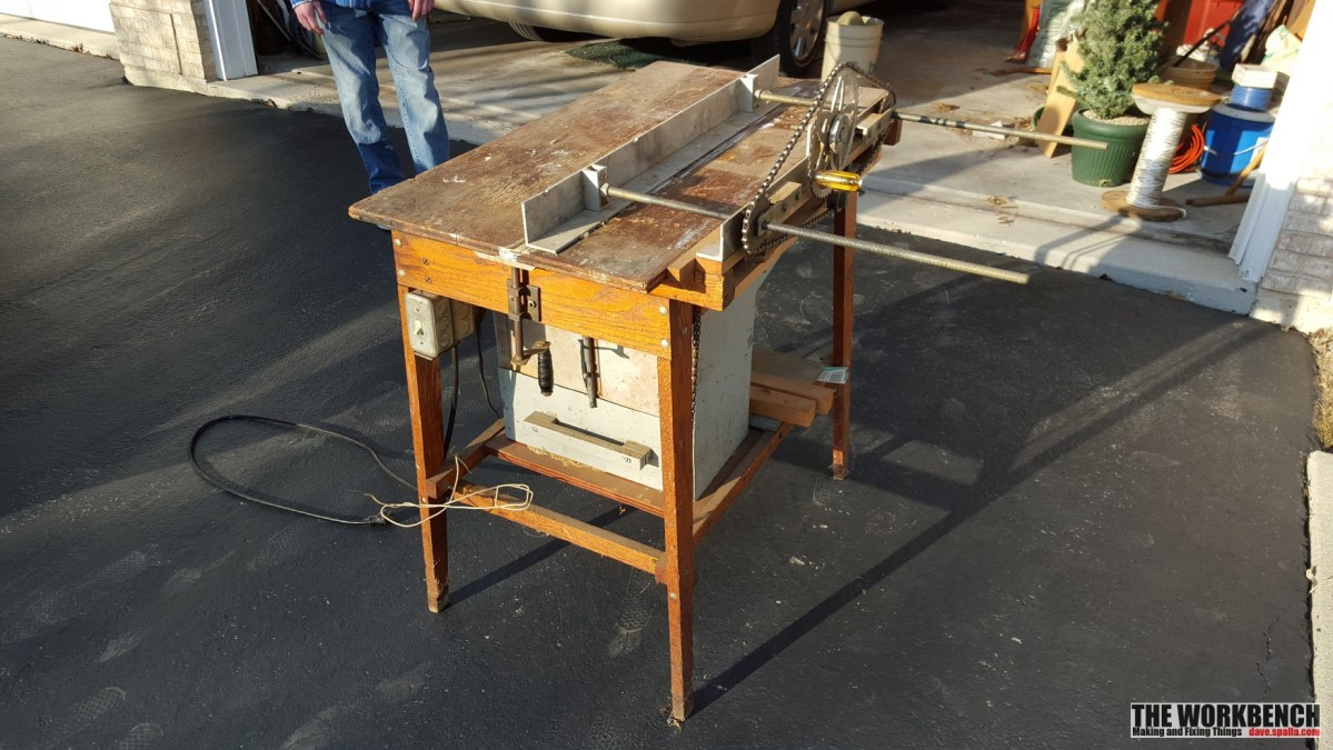 Homemade Tablesaw