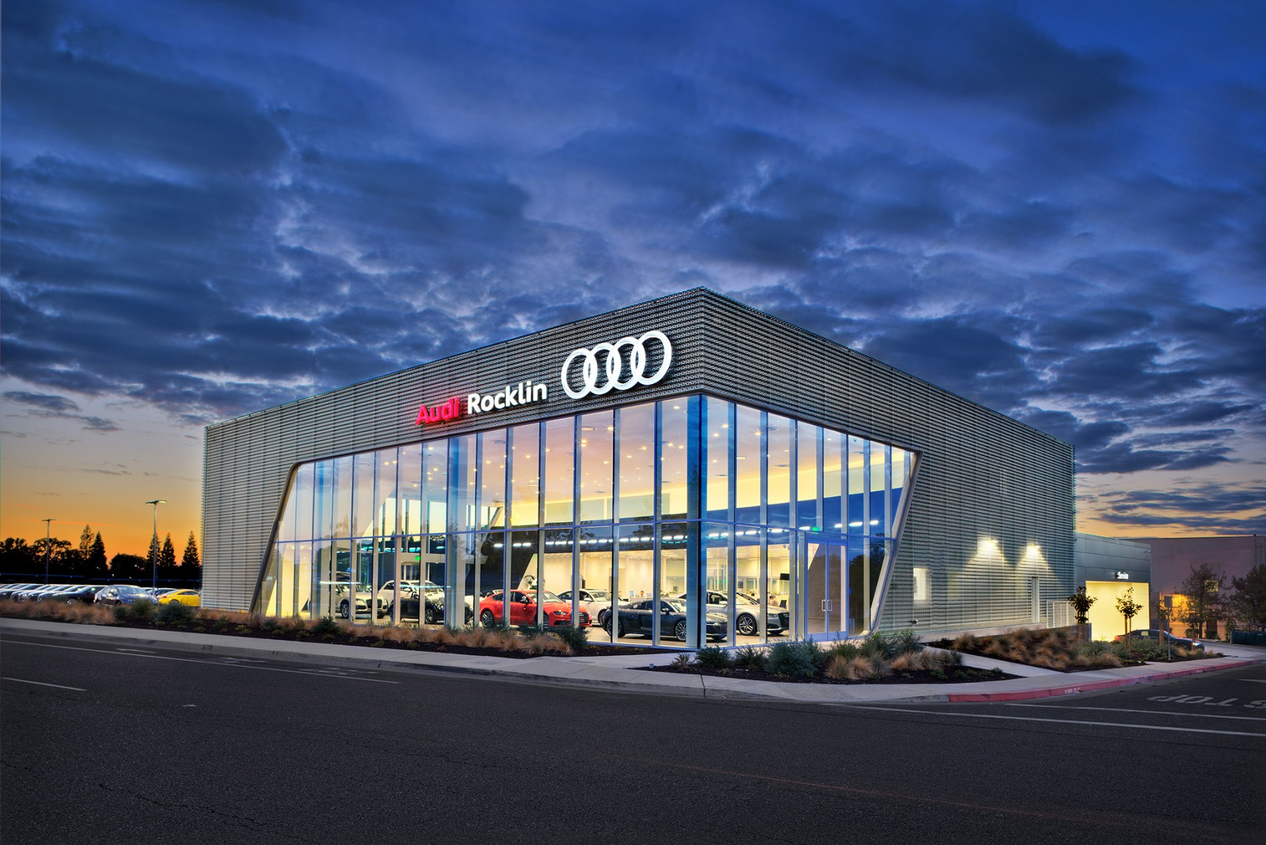Photo of Audi Rocklin at Dusk