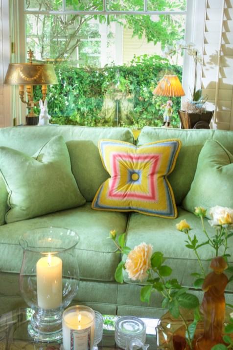 708 San Miguel living room sofa detail