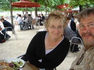 Lunch in the Park by the Louvre
