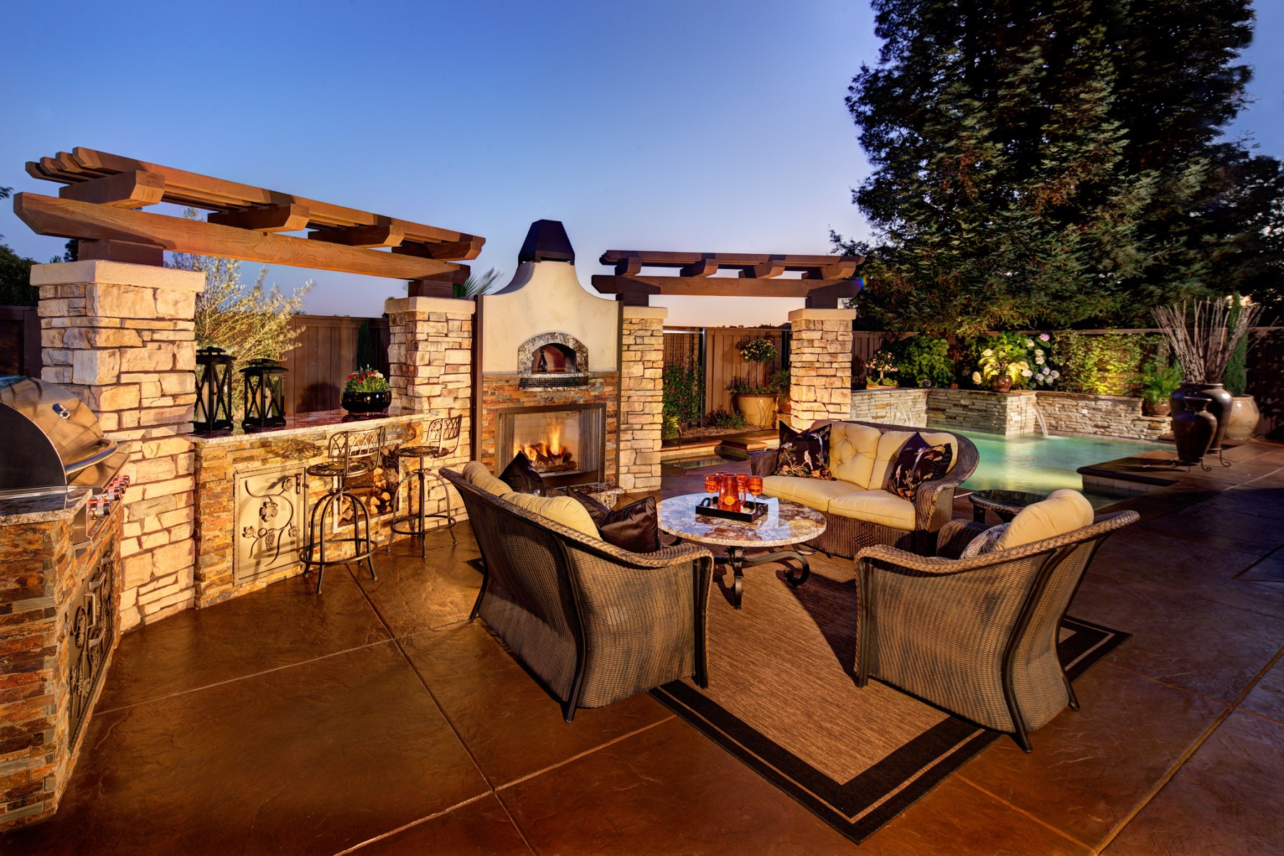 photo of Backyard remodel by Gucci Interior Design