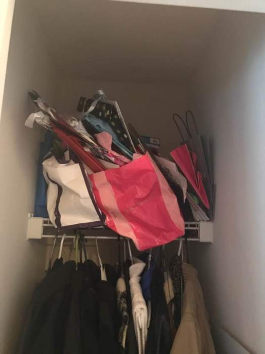 closet to clean