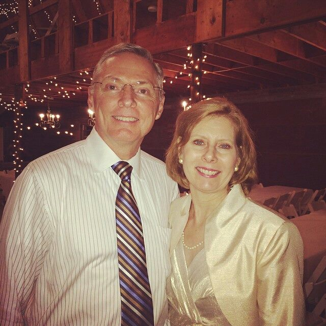 mom and dad: erik wedding