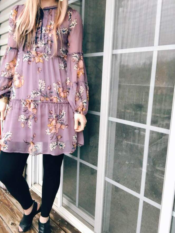 easter look on porch