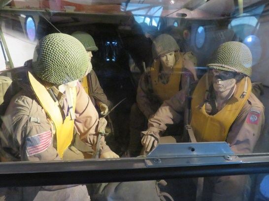 You could walk on to the glider and see what it was like for the soldiers.