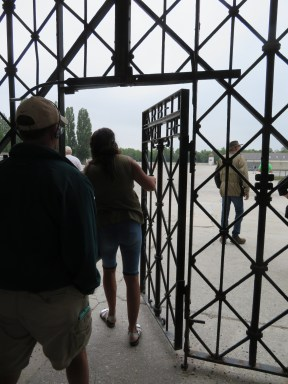 Entrance gate to Dachau