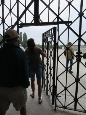 Entrance gate to Dachau