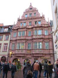 Hotel Zum Ritter built in 1592.