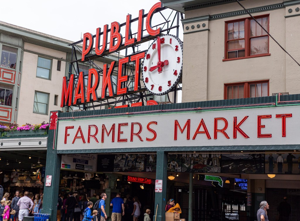 Pike's Peak Farmer's Market Seattle