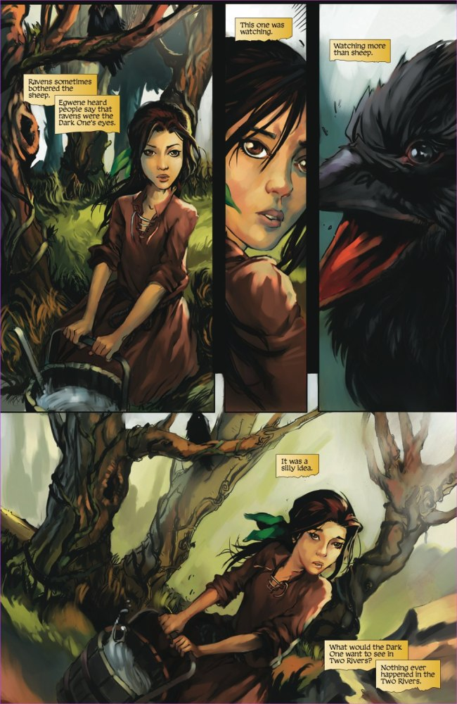 The Wheel of Time: Graphic Novel Preview - Dragonmount (3/6)