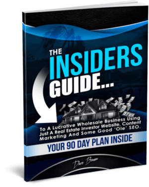 insiders guide real estate wholesaling