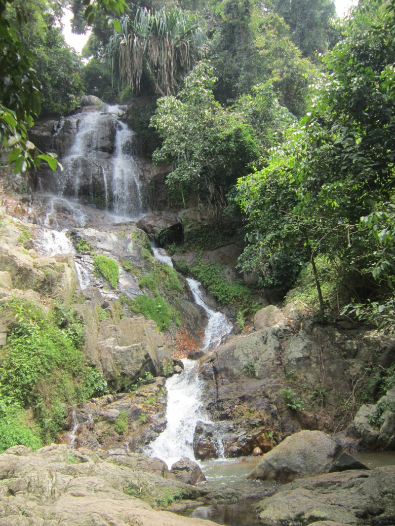 Waterfall on Koh Samui, Thailand